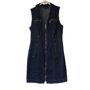 INC • Denim Sleeveless Dress